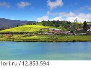 Купить «Озеро Грегори. Шри-Ланка», фото № 12853594, снято 16 марта 2015 г. (c) Михаил Коханчиков / Фотобанк Лори