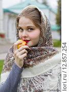 Русская красавица. Стоковое фото, фотограф Светлана Микитанская / Фотобанк Лори