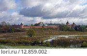 Суздаль. Вид на Спасо-Евфимиев монастырь (2015 год). Стоковое фото, фотограф Александр Ледовской / Фотобанк Лори