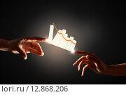 Купить «Creation concept», фото № 12868206, снято 29 ноября 2013 г. (c) Sergey Nivens / Фотобанк Лори