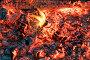 Красивый костёр с яркими раскалёнными углями, фото № 12869602, снято 3 октября 2015 г. (c) Алексей Маринченко / Фотобанк Лори