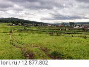 Купить «Виды на поселок Тюлюк, Челябинсккя область», фото № 12877802, снято 6 июня 2015 г. (c) Александр Усик / Фотобанк Лори
