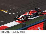 Макс Чилтон на трассе Формулы 1 в Сочи (2014 год). Редакционное фото, фотограф Свистунов Павел / Фотобанк Лори