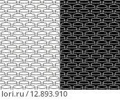 Купить «Isometric 3d line circle pattern background», иллюстрация № 12893910 (c) PantherMedia / Фотобанк Лори