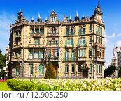 The Chavarri Palace. Bilbao. Basque Country (2015 год). Редакционное фото, фотограф Яков Филимонов / Фотобанк Лори