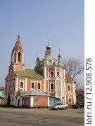 Симеоновская церковь в Переславле-Залесском (2008 год). Редакционное фото, фотограф Наталья Нестерова / Фотобанк Лори