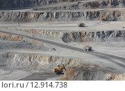 Медно молибденовый рудник. Стоковое фото, фотограф Фёдор Мешков / Фотобанк Лори