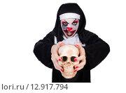 Купить «Scary nun in halloween concept», фото № 12917794, снято 2 апреля 2013 г. (c) Elnur / Фотобанк Лори