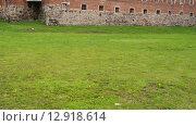 Купить «Teutonic castle in Sztum, Poland», видеоролик № 12918614, снято 15 октября 2015 г. (c) BestPhotoStudio / Фотобанк Лори