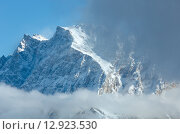 Winter mountain landscape (Austria, Tiroler Alpen). Стоковое фото, фотограф Юрий Брыкайло / Фотобанк Лори