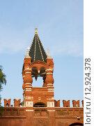Царская башня московского Кремля (2015 год). Стоковое фото, фотограф Александр Щепин / Фотобанк Лори