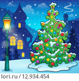 Купить «Christmas tree topic image 9», иллюстрация № 12934454 (c) PantherMedia / Фотобанк Лори