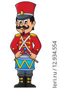 Купить «Retro soldier theme image 1», иллюстрация № 12934554 (c) PantherMedia / Фотобанк Лори