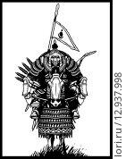Всадник апокалипсиса (монгольский всадник) Стоковое фото, фотограф Денис Цыренжапов / Фотобанк Лори