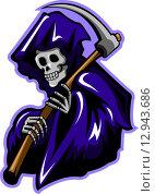 Купить «Grim Reaper», иллюстрация № 12943686 (c) PantherMedia / Фотобанк Лори