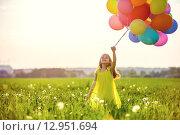 Купить «Playful child», фото № 12951694, снято 3 июня 2015 г. (c) Raev Denis / Фотобанк Лори
