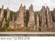 Купить ««Ленские столбы» — национальный природный парк», фото № 12953210, снято 12 сентября 2015 г. (c) Токарева Ирина / Фотобанк Лори