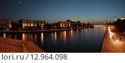 Москва вечерняя (2015 год). Редакционное фото, фотограф Алексей Ильченко / Фотобанк Лори