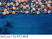 Украшения для одежды - красивые пуговицы. Стоковое фото, фотограф Виктор Колдунов / Фотобанк Лори