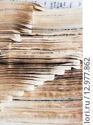 Страницы старой книги. Стоковое фото, фотограф Виктор Колдунов / Фотобанк Лори
