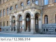 Купить «Дом ученых. Санкт-Петербург», фото № 12986914, снято 14 апреля 2009 г. (c) Валентина Качалова / Фотобанк Лори