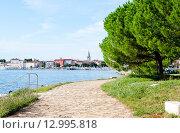 Купить «Пореч, Истрия, Хорватия», фото № 12995818, снято 5 августа 2014 г. (c) Татьяна Кахилл / Фотобанк Лори