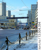 Купить «Улица Новый Арбат в Москве», эксклюзивное фото № 13004394, снято 23 февраля 2010 г. (c) lana1501 / Фотобанк Лори
