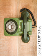 Купить «View of an old phone», фото № 13010186, снято 18 мая 2015 г. (c) Wavebreak Media / Фотобанк Лори