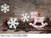 Новогоднее настроение. Стоковое фото, фотограф Наталья Осипова / Фотобанк Лори