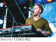 Группа КОПЕНGАGЕН. Александр Долгих (2015 год). Редакционное фото, фотограф Иван Маркуль / Фотобанк Лори