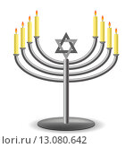 Купить «Минора с горящими свечами», иллюстрация № 13080642 (c) Valerii Stoika / Фотобанк Лори