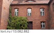 Купить «Teutonic castle in Sztum, Poland», видеоролик № 13082882, снято 15 октября 2015 г. (c) BestPhotoStudio / Фотобанк Лори