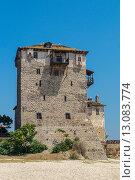 Старая греческая башня (2015 год). Стоковое фото, фотограф Dmitrii Shafranskii / Фотобанк Лори