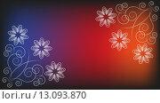 Купить «Background with floral ornament», иллюстрация № 13093870 (c) PantherMedia / Фотобанк Лори