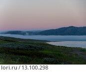 Туман над морским берегом. Стоковое фото, фотограф Инна Маслова / Фотобанк Лори