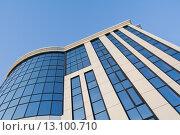 Купить «Фасад Бизнес здания», фото № 13100710, снято 27 июня 2019 г. (c) Музыка Анна / Фотобанк Лори