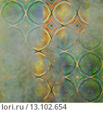 Купить «art abstract acrylic and pencil colorful background with damask pattern in light green, blue , yellow and brown colors», фото № 13102654, снято 19 октября 2018 г. (c) Ingram Publishing / Фотобанк Лори