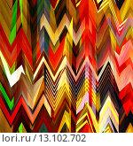 Купить «art abstract colorful zigzag geometric seamless pattern background in rainbow colors», фото № 13102702, снято 17 августа 2018 г. (c) Ingram Publishing / Фотобанк Лори