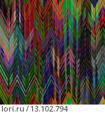 Купить «art abstract colorful zigzag geometric seamless pattern background in rainbow colors», фото № 13102794, снято 17 августа 2018 г. (c) Ingram Publishing / Фотобанк Лори
