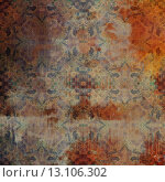 Купить «art abstract acrylic and pencil colorful background with damask pattern in beige, brown, blue and orange colors», фото № 13106302, снято 22 ноября 2019 г. (c) Ingram Publishing / Фотобанк Лори
