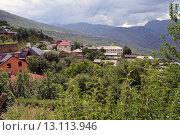 Село в горах. Стоковое фото, фотограф Магомедарип Ибрагимов / Фотобанк Лори