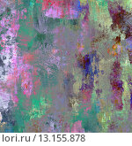 art abstract colorful acrylic and pencil background in pink, blue, green and violet colors. Стоковое фото, агентство Ingram Publishing / Фотобанк Лори
