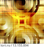 Купить «art abstract geometric textured colorful background with circles in gold, red, white and brown colors», фото № 13155894, снято 17 декабря 2018 г. (c) Ingram Publishing / Фотобанк Лори