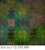 Купить «art abstract acrylic and pencil colorful background with damask pattern in green, pink, yellow and blue colors», фото № 13155990, снято 21 ноября 2019 г. (c) Ingram Publishing / Фотобанк Лори