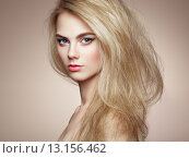 Купить «Fashion portrait of elegant woman with magnificent hair», фото № 13156462, снято 11 апреля 2015 г. (c) Ingram Publishing / Фотобанк Лори