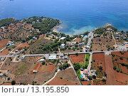 Niu Blau beach, Santa Eularia des Riu, Ibiza, Balearic Islands, Spain. Стоковое фото, фотограф Ruddy Gold / age Fotostock / Фотобанк Лори