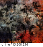 Купить «art abstract acrylic and pencil background in grey, white, black, red and orange colors with grunge circles», фото № 13208234, снято 25 марта 2019 г. (c) Ingram Publishing / Фотобанк Лори