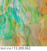 Купить «art abstract colorful geometric pattern with transparency waves; light background in green, blue, yellow and orange colors», фото № 13209062, снято 20 марта 2019 г. (c) Ingram Publishing / Фотобанк Лори