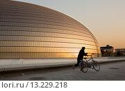 Купить «National Opera House building Paul Andreu architect,Beijing, China», фото № 13229218, снято 18 июня 2019 г. (c) age Fotostock / Фотобанк Лори