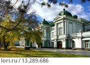 Купить «Город Омск, Омский академический театр драмы», фото № 13289686, снято 9 октября 2012 г. (c) Виктор Топорков / Фотобанк Лори
